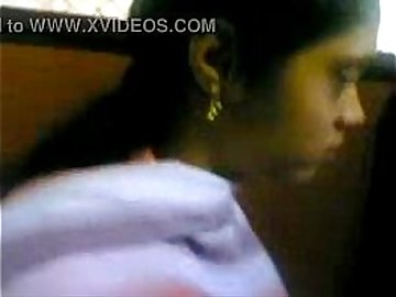 Young Mallu Girl showing her Boobs to Boy friend in coffee shop