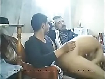 Arab Cuckold hubby new fantasy shring wife with servant
