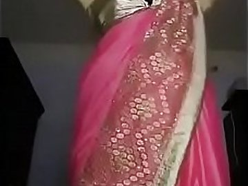 Indian Girl strips while talking dirty