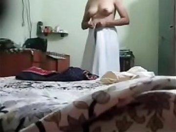 desi fat aunty stripping