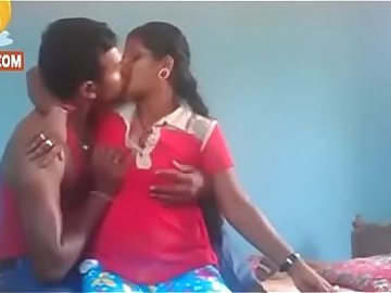 Village couple having sex in front of camera