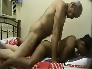 Horny Indian Old Tutor Hard Fucking a Young student